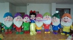 Snow White and the Seven Dwarfs mascot costume