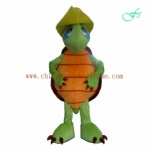 Little turtle cartoon mascot costume