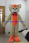 Mr Cat animal mascot costume