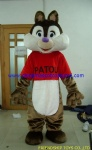 Squirrel animal character mascot costume