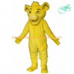 Simba the lion disney mascot costume