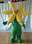 Flower mascot costume for party