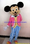 Mickey mouse cartoon mascot costume