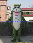 Prince Frog character mascot costume