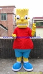 Simpson family character mascot costume