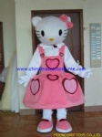 Hello Kitty character mascot costume