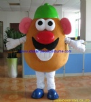 Mr Potato Head plush mascot costume