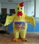 Chicken character mascot costume